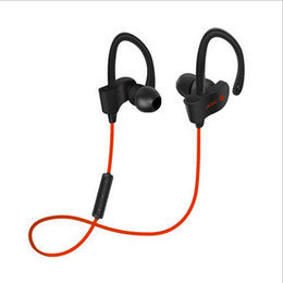 Wholesale Ear Volume - Professional Sports 4.1 bluetooth headphones Wireless Ear Hook Type Stereo Headset With Volume Control+Microphone For Jogging Travelling