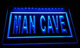 LS2313-b Man Cave LED Neon Light Sign Decor Livraison gratuite Dropshipping En Gros 6 couleurs à choisir ? partir de fabricateur