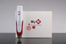Wholesale electric dermapen - 5 Speed Auto Electric Mirco needle derma pen DR.PEN ULTIMA dermapen with 2 pcs needle cartridges