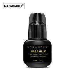 Wholesale Eyelashes Extension Adhesive - NAGARAKU 10 ml Eyelash Extension Glue Professional Use Only Fast Drying Type False Eyelash Extension Glue Eyelash Adhesive