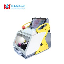 Wholesale Hyundai Automatic Cars - Portable for mobile 120W 24V car key cutting machine automatic sale of locksmith tools tubular key copy machine