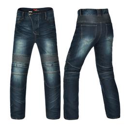 Wholesale Stop Flies - Pleated Denim Jeans for Men Waterproof Rip Stop Windproof Hard Wearing Zipper Fly Ruched Racing Pants