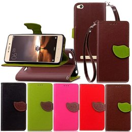Wholesale Leather Case Xiaomi Mi3 - Leaf Litchi Wallet Leather Case For Xiaomi Redmi 2 3 MI2 MI3 NOTE3 Hongmi TPU ID Card Slot Money Stand Pouch Chain Strap skin Cover Luxury