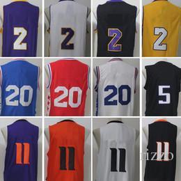 Wholesale Fox 11 - New Wholesale 2017 No.1 Draft Pick 20 Markelle Fultz 2 Lonzo Ball 5 DeAaron Fox 11 Josh Jackson 11 Jayson Tatum Stitched Basketball Jerseys