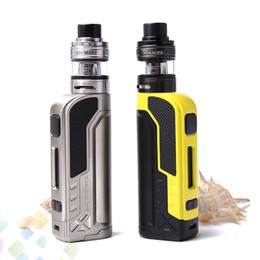 Wholesale metal warriors - Original Tesla Warrior 85W Kit E Cigarette Vaporizer Teslacigs Warrior Kit with H8 Mini Tank 3 Colors High quality DHL Free