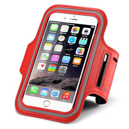 Wholesale I5s Phones - For Apple Iphone 4 4s 4g 5 5s 5c 6 6s Plus i4 i5 i6 i4s i5s i6s 5se se mobile phone running pounch bag Sport Gym Arm Band Case