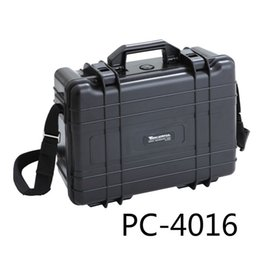 Wholesale Tool Equipment Cases - Wholesale-2.5 Kg 411*321*165mm Abs Plastic Sealed Waterproof Safety Equipment Case Portable Tool Box Dry Box Outdoor Equipment