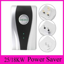 Wholesale Power Saver Save Electricity - UK,EU,AU,US Plug New Power Saver Electricity Energy Saving Box Energy Saver US UK EU Plug 90V-250V 18KW 25KW