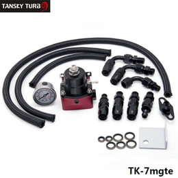 Wholesale Oil Regulators - Tansky - HQ Universal Oil cooler kit whit HQ hose fuel pressure regulator TK-7mgte, Have in stock