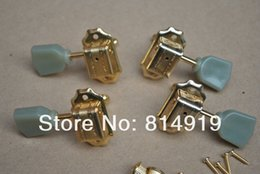 Wholesale Guitar Parts Pegs - 1 Set Golden Tuning Pegs Machine Head with GIB SON logo  Guitar Parts