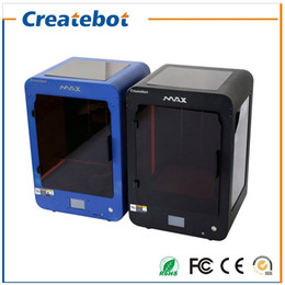 Wholesale Filament Extruder - Newest High Quality Createbot Single extruder 3D Printer Touch Screen 3D Metal Printer with 8GB SD Card PLA filaments Free Gift