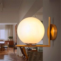 Wholesale G9 Frosted - Replica Item 2017 New lights IC LIGHTS C W Lighting IC light family G9 LED Ball Globe Michael Anastassiades Wall lamp
