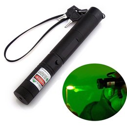 Wholesale high power Green laser pointers nm focusable can burn match burn cigarettes laser light Pop Ballon Astronomy Lazer Pointers Pens