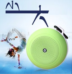 Wholesale Small Bluetooth Wireless Speakers - Universal 2016 new mini portable wireless Bluetooth 4.0 stereo HIFI speaker outdoor small speaker support TF card car subwoofer Handsfree