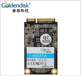 Wholesale Ssd Laptops - Goldendisk YCdisk Serial Internal mSATA SSD 256GB 250GB 240gb Internal SSD mini SATA III PCIE laptop AIO Thin Client