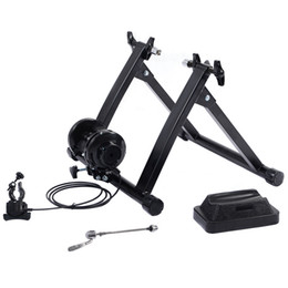 Wholesale Exercise Bicycles - New Magnetic Indoor Bicycle Bike Trainer Exercise Stand 5 levels of Resistance
