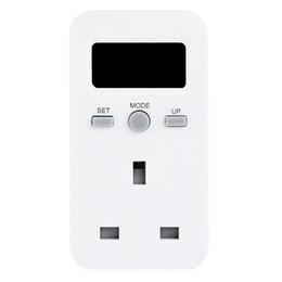 Wholesale Monitor Energy Usage - Power Consumption Meter Plug-in Energy Monitor Power Consumption Meter Electricity Usage Monitoring Socket Monitor LCD Display UK EU AU Plug