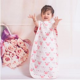 Wholesale Baby Sleep Back - baby sleeping bags wholesale 6 layer cotton good quality cartoon vest designs for 0-5T baby in USA back jersey baby maternity