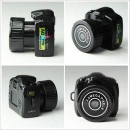 Wholesale Video Cam Webcam - Spy Mini Camera Y2000 720P HD Webcam Video Voice Recorder Micro Cam Smallest Camara Hidden Digital Mini Camera