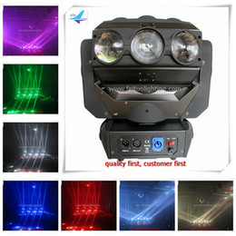 Wholesale Moving Head Disco Light - 9pcs led spider beam moving head 12w rgbw 4in1 3x3 rotatable led light for disco night dance party wedding concert