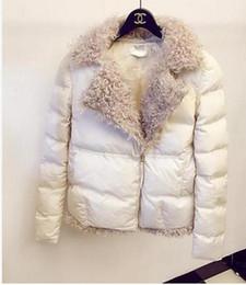 Wholesale Wool Shorts Plus Size - 2016 New Women Clothing wadded Jacket slim coat woman faux wool Ladies Short Winter Jacket Overcoat Plus Size doudoune femme