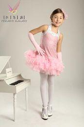 Wholesale Silk Tutu Ballet - professional ballet tutu ballet dress for children Child leotard evening dress princess dress child costume female Latin dance clothes 205
