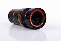 Wholesale Fast Optical - Fast DHL Universal 8X Zoom Mobile Phone Magnification Optical Telescope Camera Lens For iPhone Samsung Sony HTC Motorola Smartphones