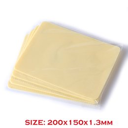 Wholesale Tattoo Practice Skin Body - Solong Tattoo High Quality Silicone Double Sides 10 Pcs 200x150x1.3mm Blank Tattoo Practice Skins Small Size for Beginners
