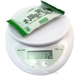 Wholesale Mini Balance 1g - New 5000g 1g 5kg Household Kitchen Scale Mini High Precision Measurement Digital Scales Balance Weight LED Electronic j103