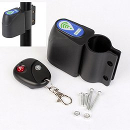 Wholesale Security Guard Wireless - Wholesale-Bike Guard Against Theft Alarm Lock Bicycle Cycling Security Lock Wireless Remote Control Vibration Anti-theft Alarm