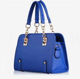 Wholesale Clutch Dropship - 4 Colors PU Leather Handbag Clutch Hobo Purse Shoulder Cross Body Bags Women Lady Bag Tote GLB033 Support Dropship