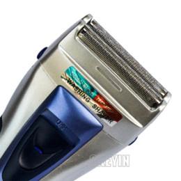 Wholesale Electric Foil Shaver - Hot Sale Rechargeable Dual-head Electric Men's Dry & wet Shaver Razor Trimmer Unique foil Washable Free Shipping RCS24_8213