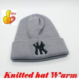 Wholesale Wholesale Winter Ski Hats - Winter Cap Unisex Fashion Cap Beanies Ski Hat for Outdoor Sports Hat Cotton Fit for Snow anti-cold Warm Out0871 DHL