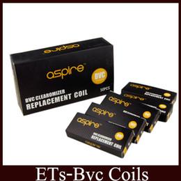 Wholesale Coil Heads For Vivi Nova - BVC Coils Heads For CE5 ET CE5-S ETS BDC Atomizers Vivi Nova Mini Vivi Nova BVC Replacement Coil vs bdc coil free ship