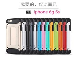 Wholesale Neo Hybrid 4s - Rugged Neo Hybrid Armor Heavy Duty Slim Tough Case For iphone 4g 4s 5g 5s 6g 6s PC + TPU Schockproof Back Cover