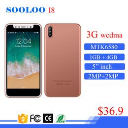 Wholesale Dual Sim Slim - Model I8 MTK6580 5 inch super ultra slim 3g wcdma gsm mobile phone dual sim smart phone android