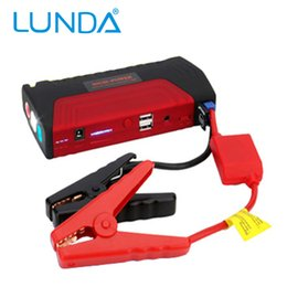 Wholesale Emergency Starter - LUNDA Car jump starter High power capacity battery source pack charger vehicle engine booster emergency power bank
