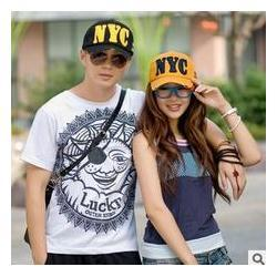 Wholesale Shipping Nyc - Free shipping fashion leisure lovers baseball caps NYC letter snapback caps hats forautumn -summer,wholesale price