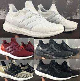 Wholesale Nude Point - Hot Ultra Boost 4.0 Triple White Core Black Grey Green CNY Oreo 3.0 Men Women UltraBoost Classic Sneakers Shoes eur 36-47