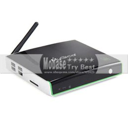 Wholesale Dual Tuner Media Player - Geniatech MyGica ATV1220T2 DVB T2 Android TV BOX XBMC DVB-T2 Tuner Receiver 1G 4G Amlogic 8726-MX Dual Core IPTV Media Player