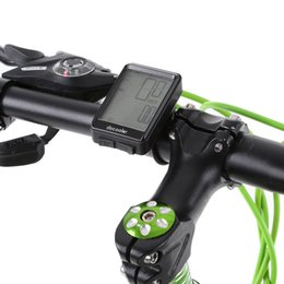 Wholesale Digital Computer Stopwatch - Bicycle Computer Digital Wireless Computer Cycling Bicycle Speedometer Bike Stopwatch Odometer Temperature
