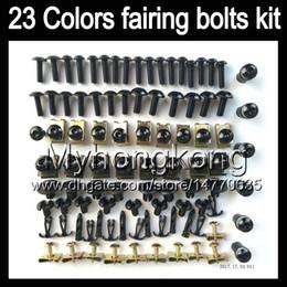 Wholesale 1995 Ninja Fairing Kit - Fairing bolts full screw kit For KAWASAKI NINJA ZX11R 1993 1994 1995 ZX-11R ZZR1100 ZX11 R 1996 1997 Body Nuts screws nut bolt kit 13Colors