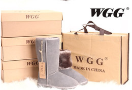 Wholesale Womens Size 13 Heels - FAST SHIPPING 2018 High Quality WGG Women's Classic tall Boots Womens Snow boots Winter boots leather boot US SIZE 5---13
