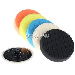 "Wholesale Wholesale Buffing Pads - 6Pcs 6"" Diamond Face Foam Buffing pad and Polishing Pad Kit--M14 thread"