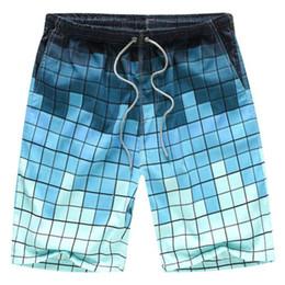 Wholesale Mens Beach Shorts Wholesale - Wholesale-2016 Beach Shorts Mens Brand Surf Sport Boardshorts Men Board Short Quick Dry Bermuda Plus Size