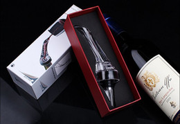 Wholesale Magic Wine Aerator - Brand New High qualitity Wine Aerator red wine Aerating Pourer, Mini Magic Red Wine Bottle Decanter With Fast Fedex Free ship