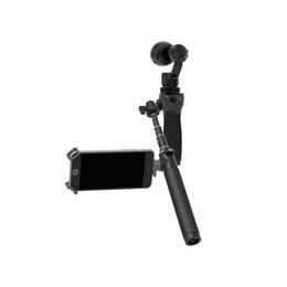 2016 Orijinal Osmo El Için DJI Uzatma Sopa Teleskop Tasarım El 4 K Kamera ve 3-Axis Gimbal Bölüm 1 Siyah nereden iphone direksiyon simidi tedarikçiler