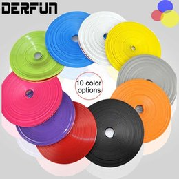 Wholesale Decorative Line Car - 8 Meter Lot Car Motorcycle Wheel Hub Tire Sticker Car Decorative Strip Wheel Rim Protection Care Covers Car Accessories Car Styling