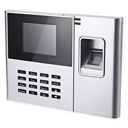 Wholesale Fingerprint Machines - Wholesale- DANMINI N308 -T Fingerprint Time Attendance Machine Identification Checking Recorder Employee Electroic Attendance Time Recorder