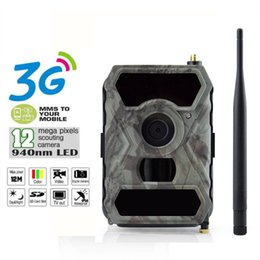 Wholesale Hunt Camera Mms - 3G Network GSM MMS Game Wide Lens 110° Cam Hunting Camera S880G HD 1080P 12MP
